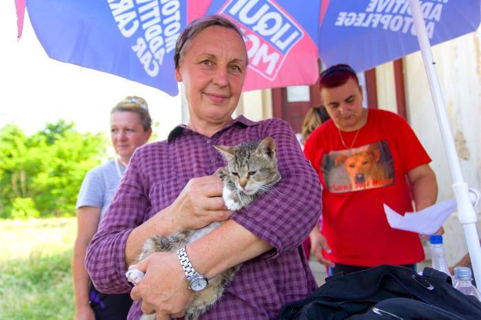 World Vets Helps 200 + Animals in Romania