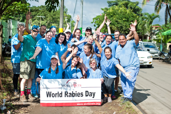 World Vets Celebrates World Rabies Day